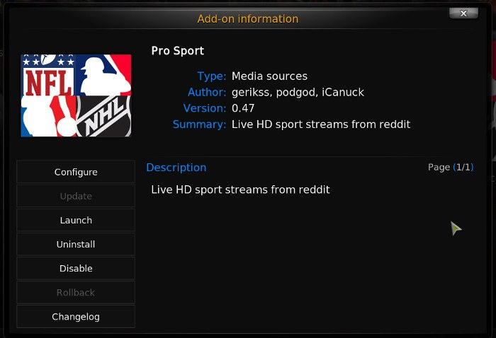 kodi-sports-pro-sport-add-on