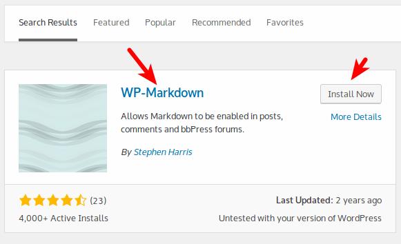 markdown-wordpress-install-plugin-1