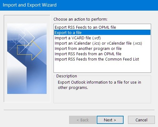 outlook-iphone-import-export-wizard