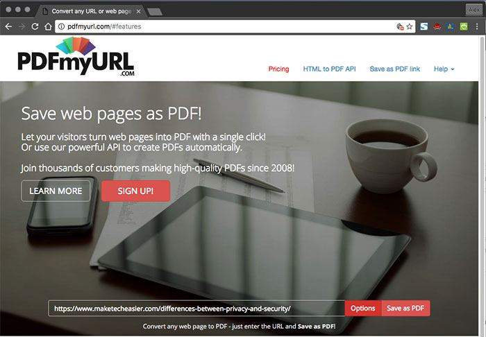 5 Easy Ways to Convert Websites to PDFs in Chrome - Make Tech Easier