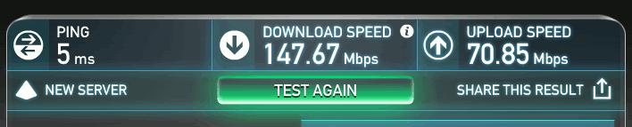 speedtest-onevpn-sg