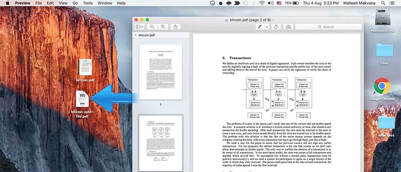How to Split PDF Files Using Preview on Your Mac
