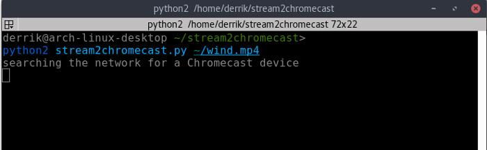 stream2chromecast-starting-stream