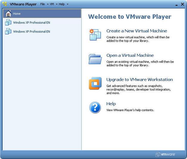 virtual machine software windows 10 vmware player