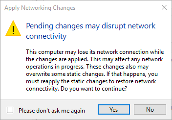 win10 hyper-v network change warning