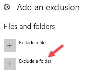 win10-windows-defender-click-exclude-folder