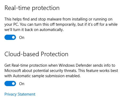 win10-windows-defender-enable-real-time-and-cloud-protection