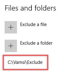 win10-windows-defender-folder-exclusion-added