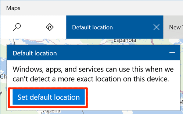 How to Set the Default Location for Your Windows 10 Computer
