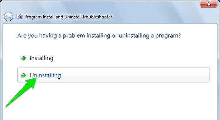 Uninstall-Windows-Program-Uninstalling