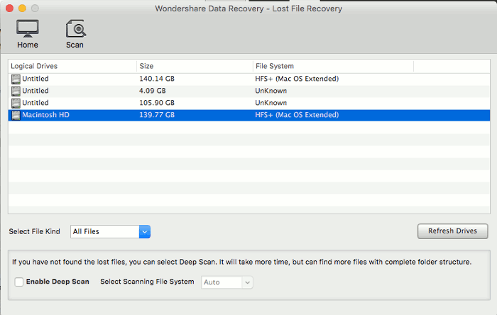 Wondershare-Data-Recovery-Review-Lost