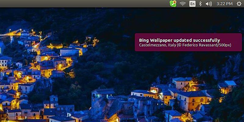 How To Set Ubuntu Desktop Wallpaper To Bings Photo Of The Day