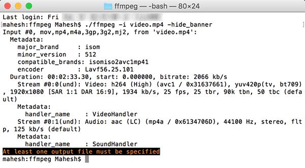 ffmpeg-information