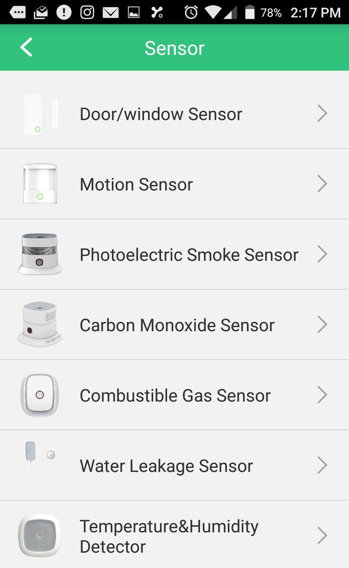 Add sensors to Orvibo Smart Home Kit.