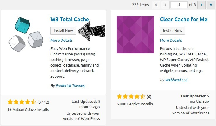 Install W3 Total Cache WordPress plugin.