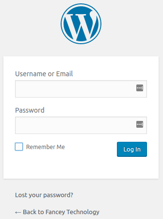 Sign into your WordPress site.