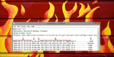 How to Track Internet Activity for Free Using Windows Firewall Log