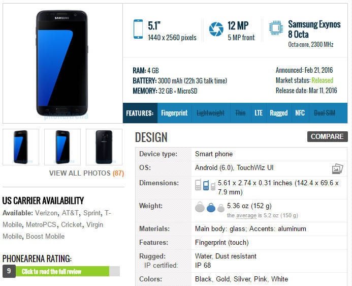 compare-phones-phone-arena-specifications