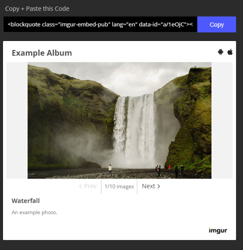 How to Easily Share and Embed Large Image Albums with Imgur