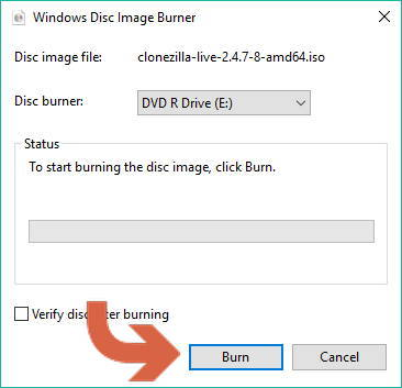 how to create win 10 boot disc