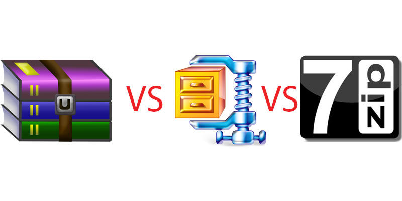 7-Zip vs WinRAR vs WinZIP: The Best Tool for File