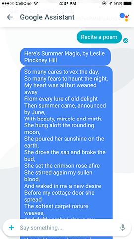 google-allo-poem