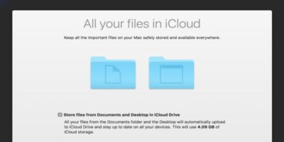 Fixing Problems with iCloud Desktop and Documents Syncing in macOS Sierra