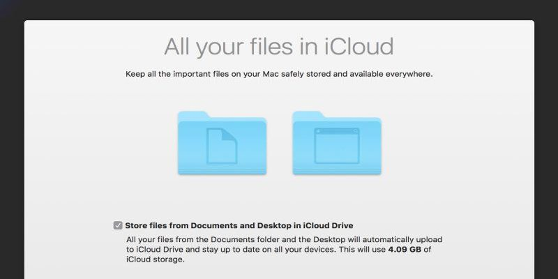 Fixing Problems with iCloud Desktop and Documents Syncing in