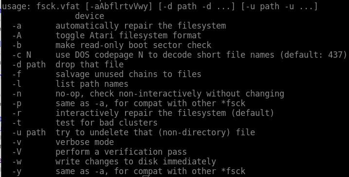 linux-flash-drive-fsck-options