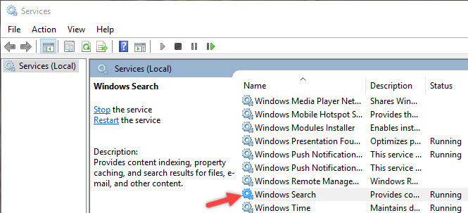 manage-indexing-win10-open-windows-search-service