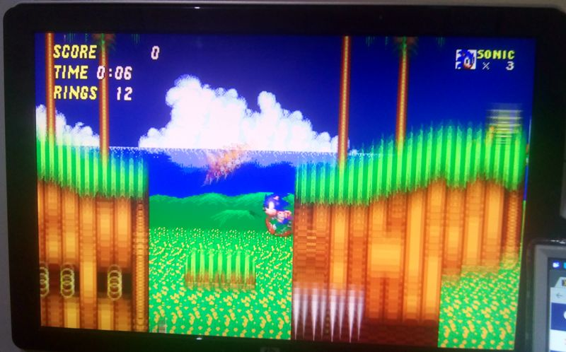 Sonic the Hedgehog 2 on Probox2 Air.