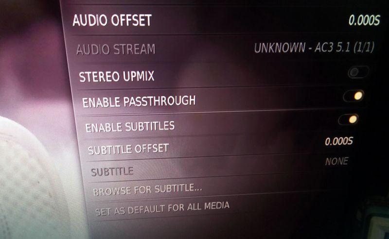 Kodi audio issue on Probox2 Air.