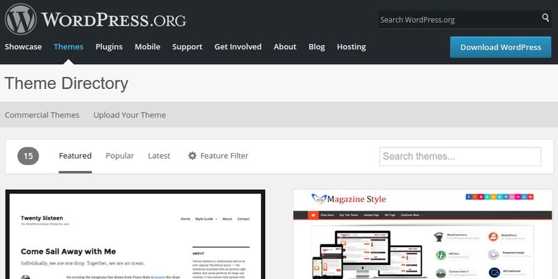 Customizing Your WordPress Blog: Installing Themes
