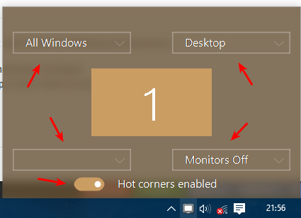 How to Get Hot Corners in Windows 10 - Make Tech Easier