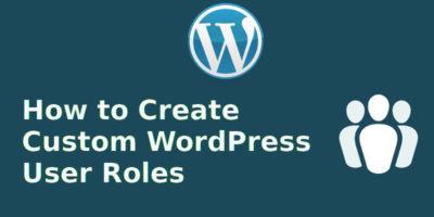 wordpress-custom-roles