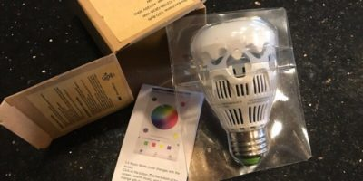 Digitally Light Up Your Life with the LOFTEK SANSI Light Bulb