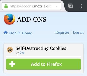 firefox-addon-selfdestruct-cookies