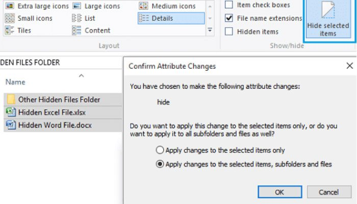 hide-files-folders-windows-multiple