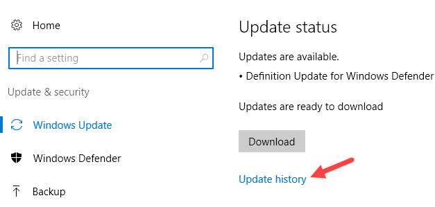 update-history-win10-click-update-history