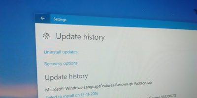 How to Find Update History in Windows 10