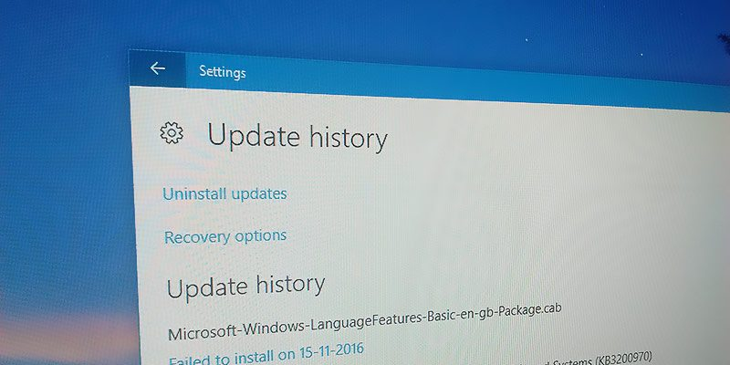 How to Find Update History in Windows 10 - Tips and Tricks