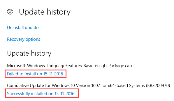update-history-win10-successfully-installed-updates