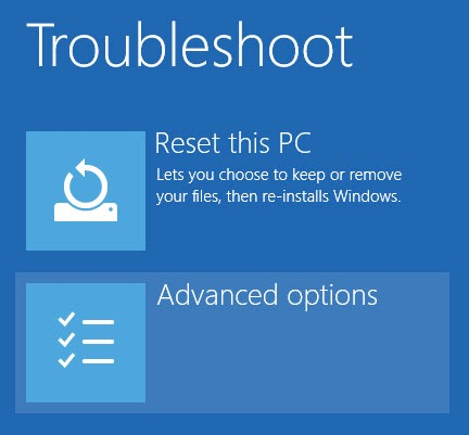 win10-install-unsigned-drivers-select-advanced-options