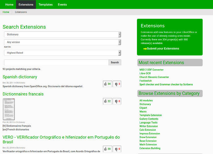libreoffice-extensions-06-dictionaries