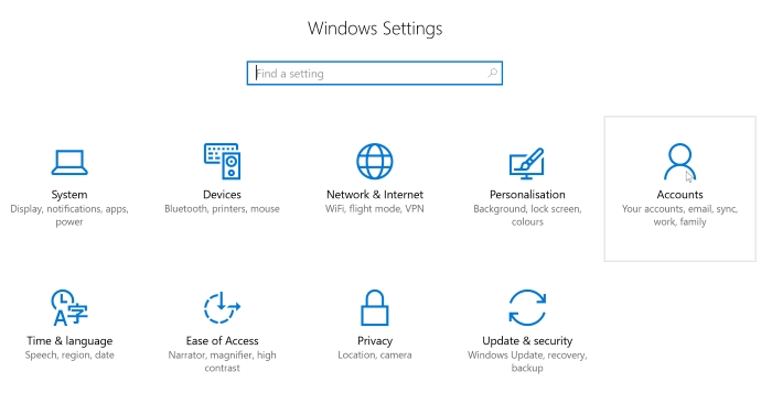 Windows-Privacy-Accounts