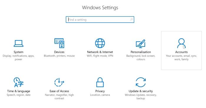 Windows-Privacy-Accounts