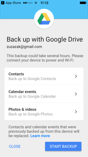 ios-to-android-google-drive-main-screen