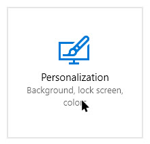 move-clock-win10-select-personalization