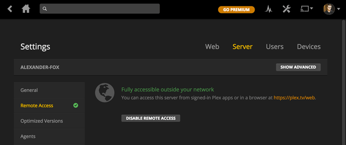 plex-server-remote-access-on