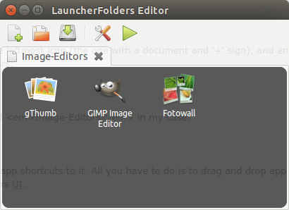 Unity Launcher Folders -app-icons-added